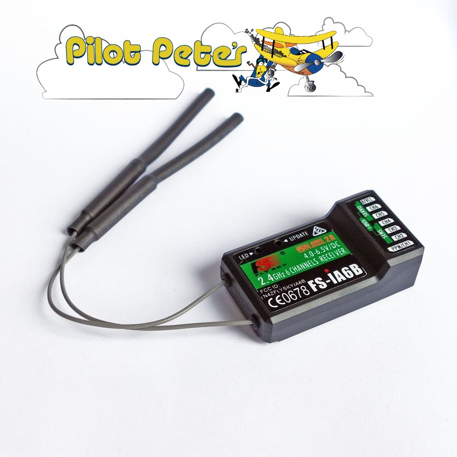 Receiver 6CH FS-iA6B V2 PPM Output With iBus Also named TGY-iA6B