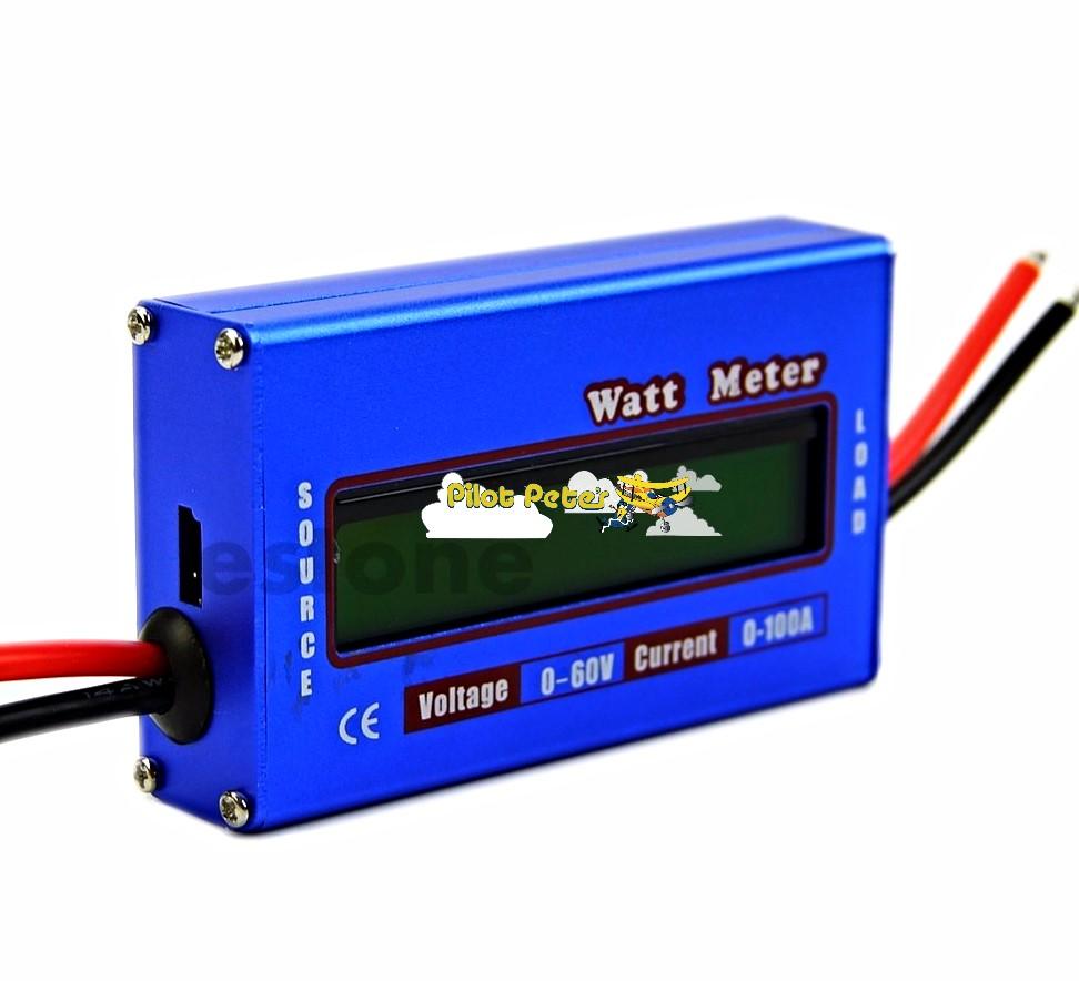 Watt Meter, Volt Meter, Amp Hour Meter, Amp Meter All In