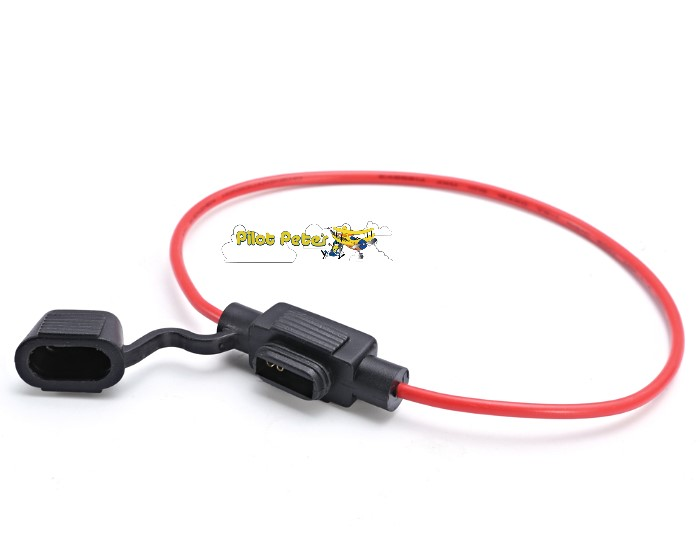 Fuse Holder  Suits Mini Blade Fuses Up To 30 Amps