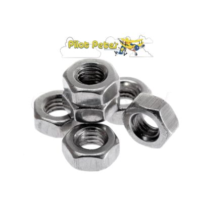 M2x5 In Hex machine screws 304 Stainless  4 pcs  | Pilot Petes